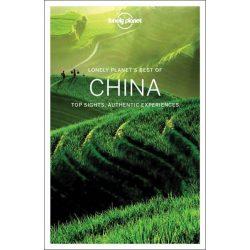 China Lonely Planet útikönyv Best of China, Kína útikönyv 2017
