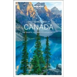 Canada Lonely Planet Guide, Best of Canada, Kanada útikönyv 2017