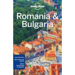 Románia útikönyv, Romania, Bulgaria Lonely Planet útikönyv 2017