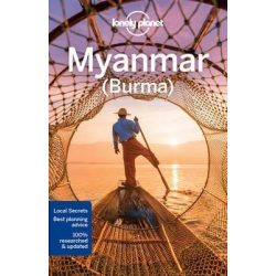 Myanmar útikönyv Lonely Planet  Burma 2017