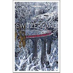 Switzerland útikönyv Best of Switzerland Lonely Planet Svájc útikönyv 2018