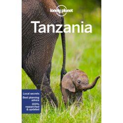 Tanzania útikönyv Lonely Planet Tanzánia  2018