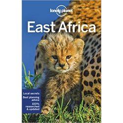 Africa, East Africa Lonely Planet  2018  Kelet-Afrika útikönyv
