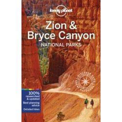 Zion & Bryce Canyon National Parks útikönyv Lonely Planet Zion Canyon útikönyv 2019 angol
