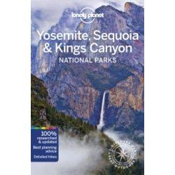 Yosemite, Sequoia Kings Canyon National Parks Lonely Planet, Yosemite útikönyv  2019