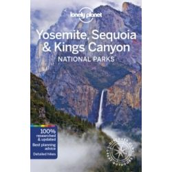 Yosemite, Sequoia Kings Canyon National Parks Lonely Planet, Yosemite útikönyv  2019