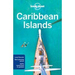 Caribbean Islands Lonely Planet Karib-szigetek útikönyv 2017