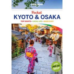 Kyoto útikönyv Pocket Lonely Planet Kyoto & Osaka útikönyv 2019 angol
