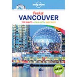 Vancouver útikönyv Lonely Planet Pocket Guide 2017