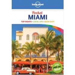 Miami Lonely Planet Pocket útikönyv 2018 Miami útikönyv