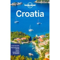Croatia Horvátország Lonely Planet útikönyv 2019