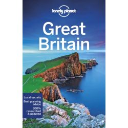 Great Britain útikönyv Lonely Planet  2019  Nagy-Britannia útikönyv angol