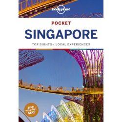 Singapore Pocket Guide Lonely Planet Szingapúr útikönyv 2019 angol