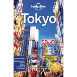 Tokyo Lonely Planet, Tokió útikönyv, Tokyo útikönyv 2019 angol