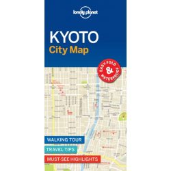 Kyoto térkép Lonely Planet 2017
