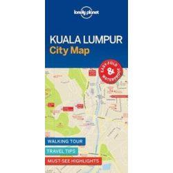 Kuala Lumpur térkép Lonely Planet 2017