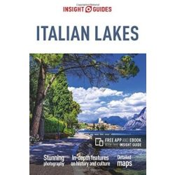 Italian Lakes útikönyv Insight Guides, angol 2017