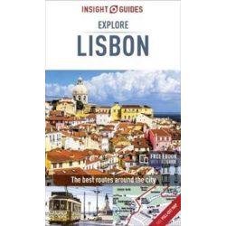 Lisbon Lisszabon útikönyv Insight Guides - angol  2017