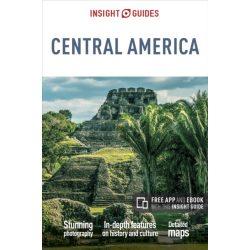 Közép-Amerika útikönyv Insight Guides 2017 Central America Guide angol