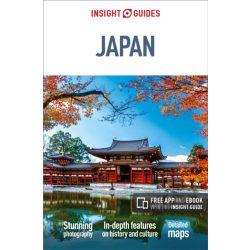 Japán útikönyv Japan Insight Guides, angol 2018