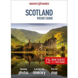 Scotland útikönyv, Skócia útikönyv, Insight Guides Pocket Scotland 2019 angol
