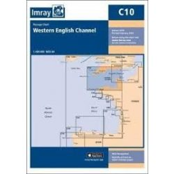Imray Chart C10 : Western English Channel Passage Chart 2018