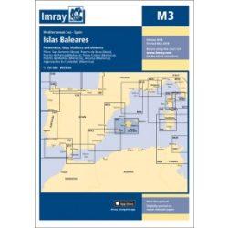 Imray Chart M3 : Islas Baleares 2018