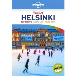 Helsinki Lonely Planet Guide Pocket, Helsinki útikönyv Lonely Planet 2018