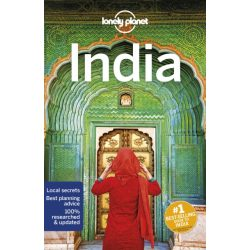 India útikönyv Lonely Planet 2019