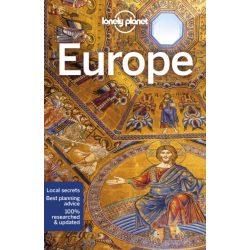 Europe Lonely Planet Európa útikönyv 2019 angol