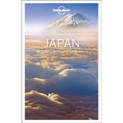 Japán útikönyv Best of Japan Lonely Planet 2019 angol