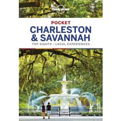 Charleston & Savannah Pocket Lonely Planet 2018 Charleston útikönyv