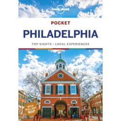 Philadelphia útikönyv Philadelphia Lonely Planet Pocket, angol 2018