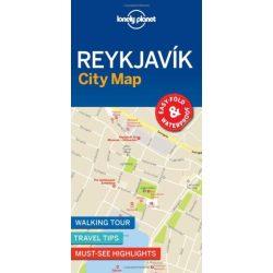Reykjavik térkép Lonely Planet Reykjavik várostérkép
