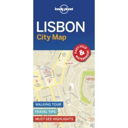 Lisszabon térkép Lonely Planet