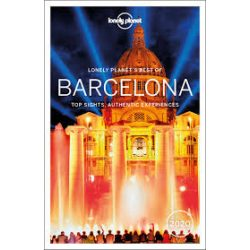 Barcelona útikönyv Lonely Planet Best of Barcelona 2020