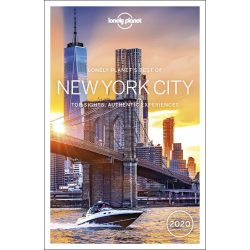 New York City útikönyv Lonely Planet Best of New York City 2020