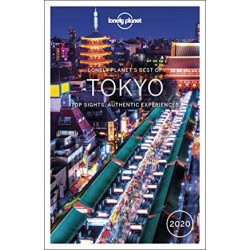 Tokyo Lonely Planet útikönyv Best of Tokyo 2020 Tokió útikönyv