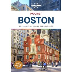Boston Pocket Lonely Planet USA 2019 angol Boston útikönyv