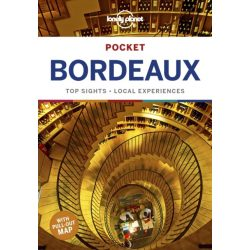 Bordeaux Lonely Planet Pocket, Bordeaux útikönyv 2019