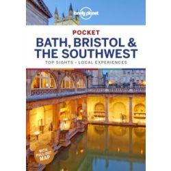 Bath, Bristol & the Southwest Lonely Planet Pocket, Bristol útikönyv 2019 angol