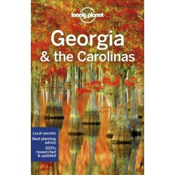 Georgia & the Carolinas Lonely Planet, Georgia útikönyv, Carolina útikönyv USA 2019