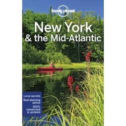 New York útikönyv, New York & the Mid-Atlantic útikönyv Lonely Planet 2019