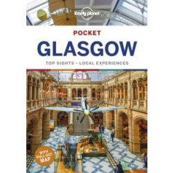 Glasgow útikönyv Lonely Planet Pocket, angol 2019