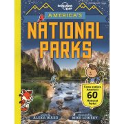 America's National Parks Lonely Planet Guide 2019 angol könyv gyerekeknek USA's National Parks