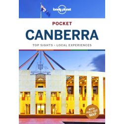 Canberra Lonely Planet Pocket Canberra útikönyv 2019 angol