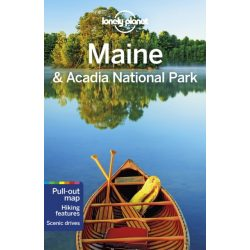 Maine & Acadia National Park Lonely Planet 2019 angol Maine útikönyv Lonely Planet