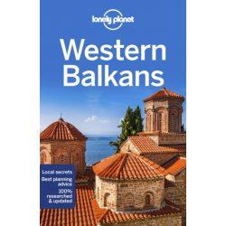 Western Balkans útikönyv Lonely Planet Nyugat-Balkán országai útikönyv angol 2019