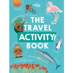 The Travel Activity Book Lonely Planet Guide 2019 angol könyv gyerekeknek