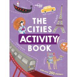 The Cities Activity Book Lonely Planet Guide 2019 angol könyv gyerekeknek